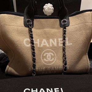 Chanel Deauville tote.